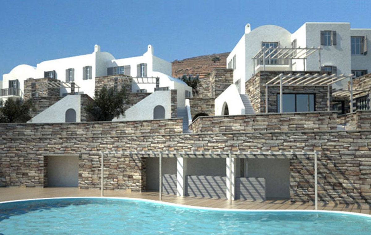 Complex in Andros