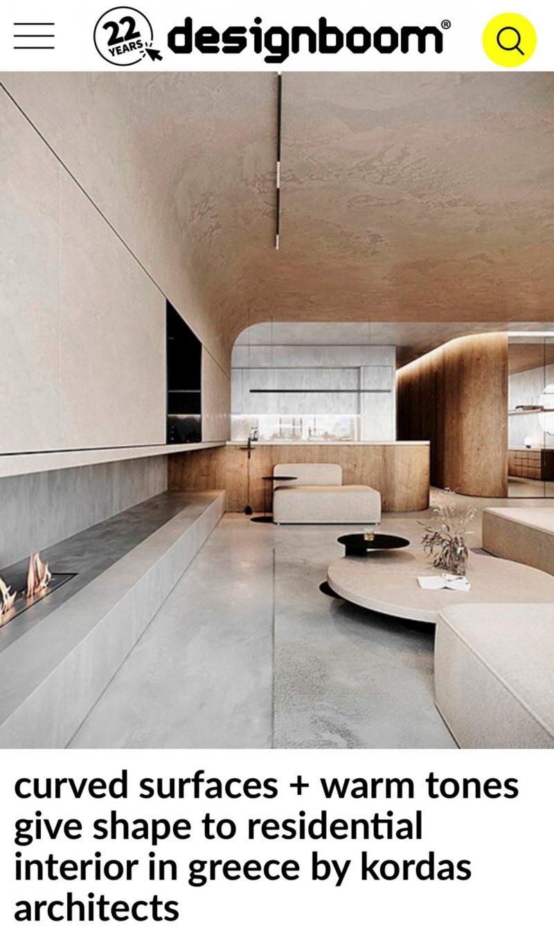 Kifisia Apartment, Designboom