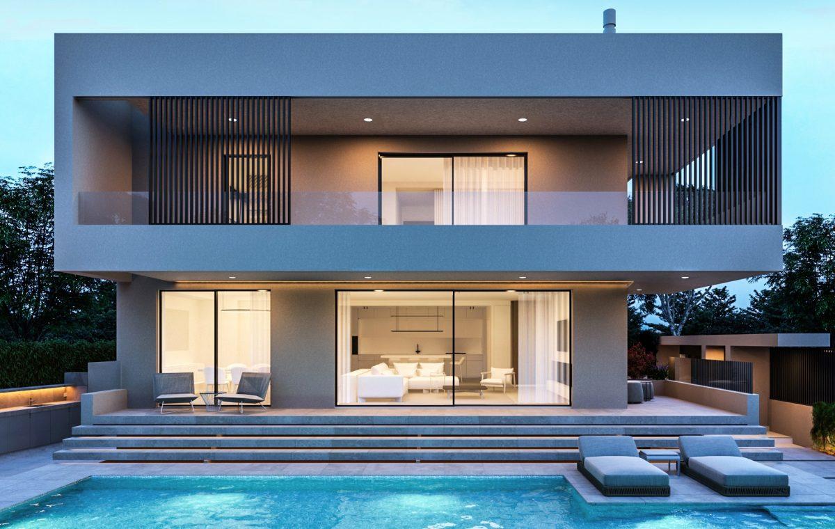 private vilal residence with pool πισίνα βίλλα Κηφισιά