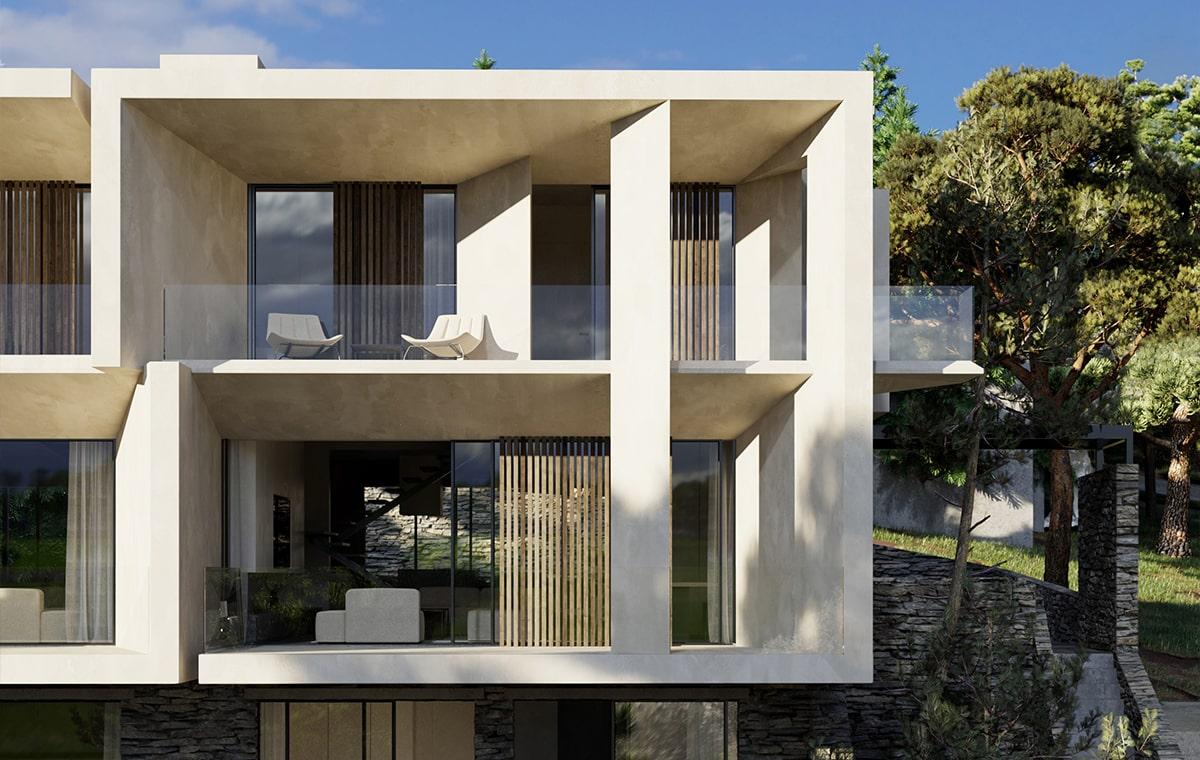 Residene in Penteli with pool