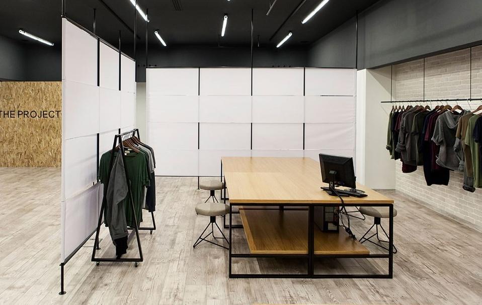 Γραφεία και Εκθεσιακός χώρος Project Garments