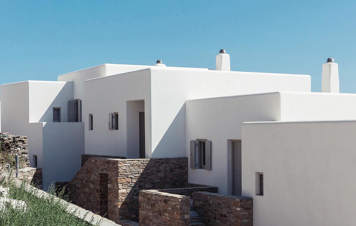 triantaros villas in Tinos